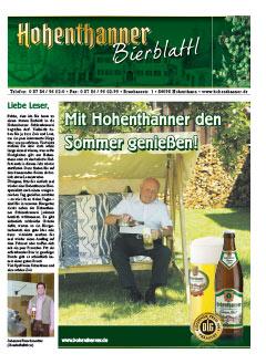 Hohenthanner Bierblattl 2011