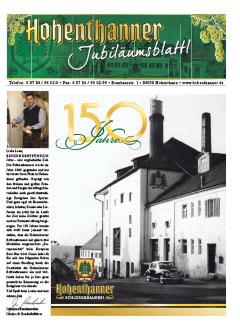 Hohenthanner Bierblattl 2014 / 01