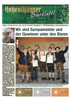 Hohenthanner Bierblattl 2014 / 02