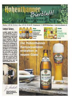 Hohenthanner Bierblattl 2015 / 01