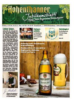 Hohenthanner Bierblattl 2016 / 01