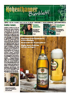 Hohenthanner Bierblattl 2017 / 01