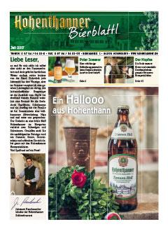Hohenthanner Bierblattl 2017 / 02