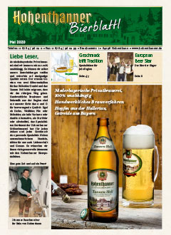 Hohenthanner Bierblattl 2020