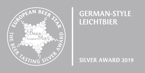 Beer Star Silber Helles Leicht 2019