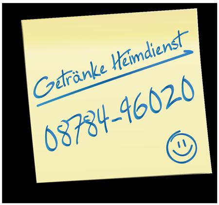 Getränke Heimdienst Telefonnummer