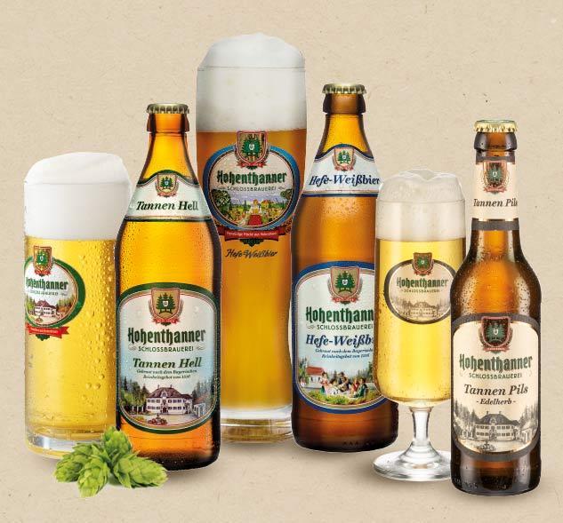 Hohenthanner Bierspezialitäten