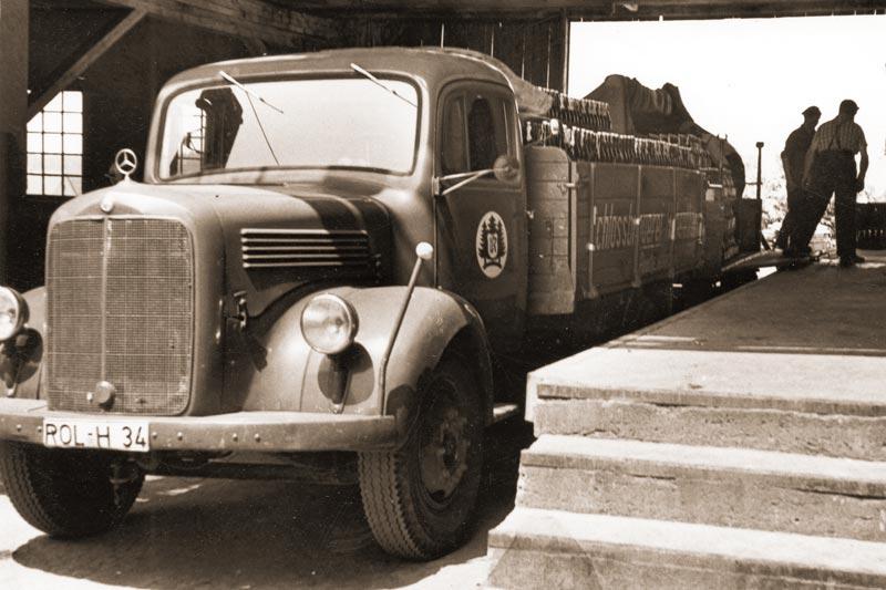 Hohenthanner Lastwagen um die 1960