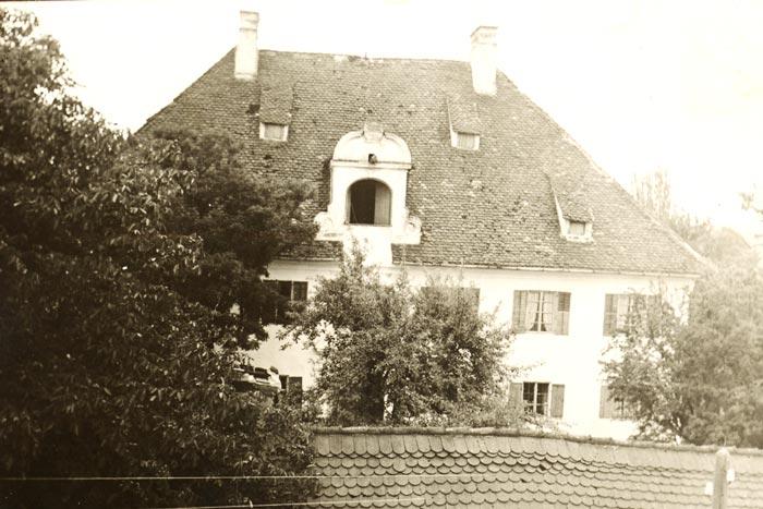 Hohenthanner Schloss 1930