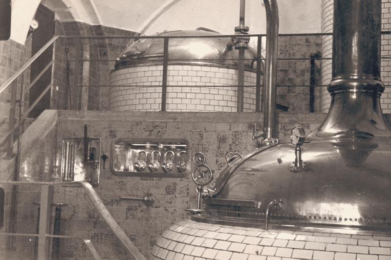 Hohenthanner Sudhaus um die 1936
