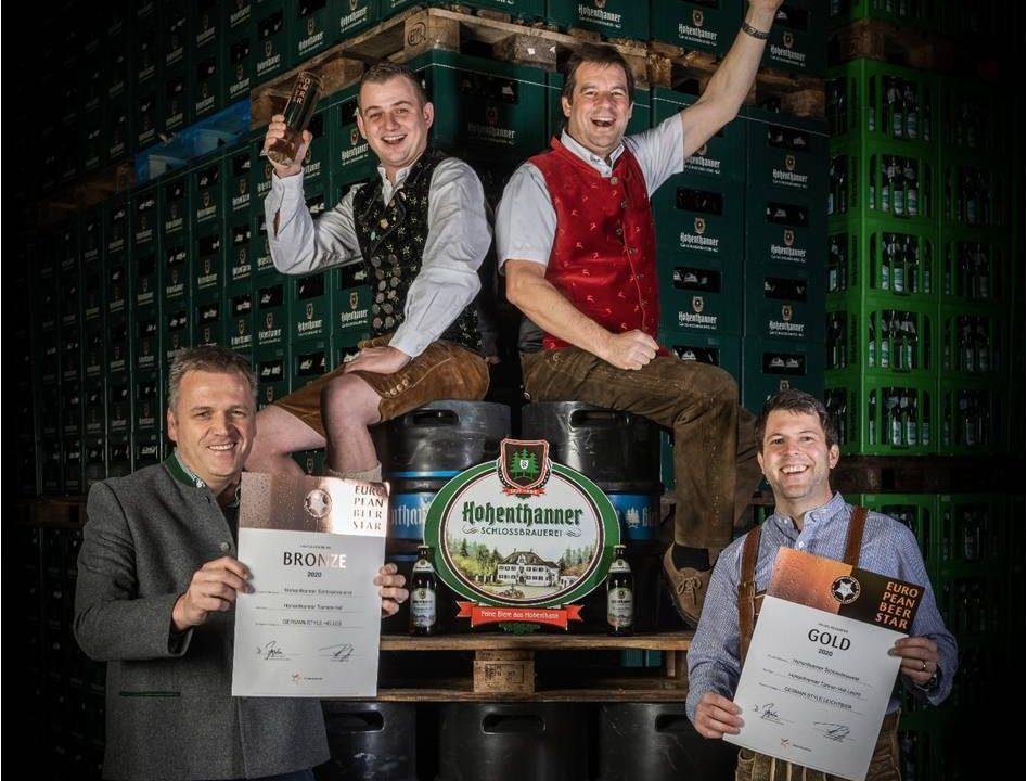 Siegerehrung European Beer Star 2020