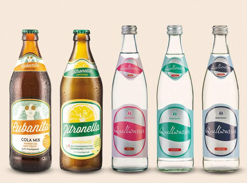 Hohenthanner alkoholfreie Getränke