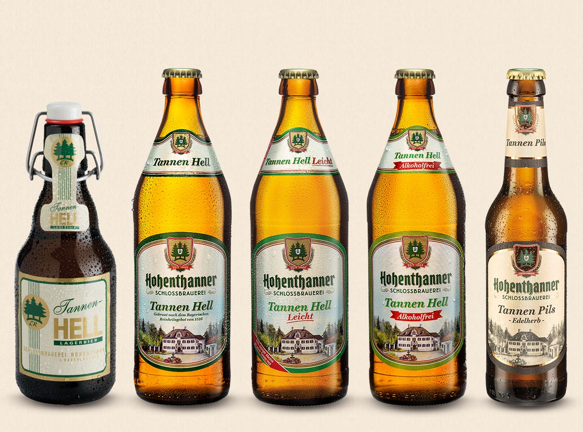 Hohenthanner Lagerbiere