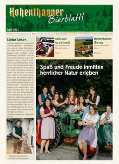 Hohenthanner Bierblattl 2021